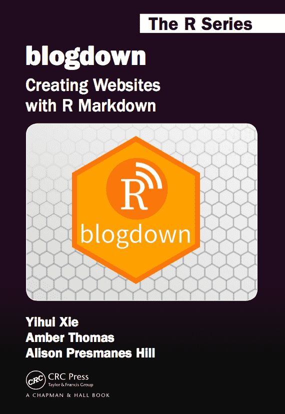 blogdown book cover