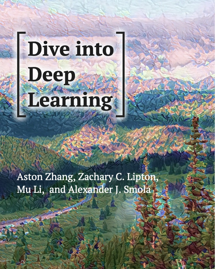 dive into deep learning cover